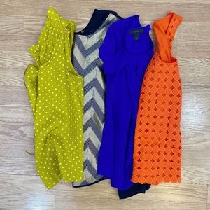 J. Crew Bundle of 4 Business Casual Top Size 2/XS